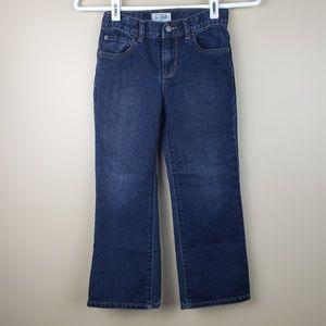 EUC Childrens Place Boys Bootcut Jean's, size 6